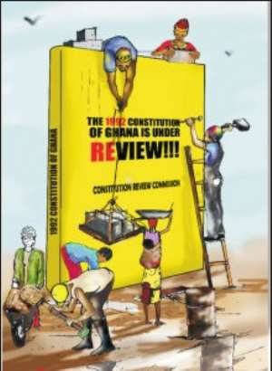 Review Of The 1992 Constitution: Let's Entrench Provisions On National Development