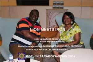 GaDangme Europe (GDEu) Elects 1st Female President