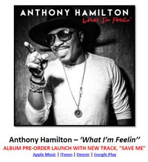 Anthony Hamilton –''What I'm Feelin''