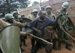 Kenyan MPs reject violence court