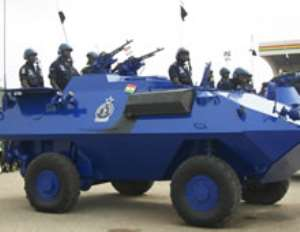Police step up security at Agbogbloshie