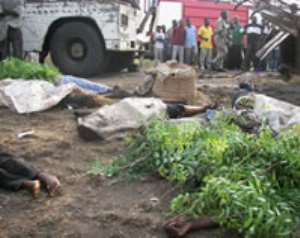 Accidents rate in Ghana is worrying