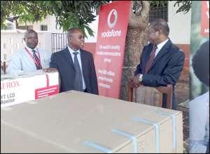 Vodafone GT Supports University of Ghana