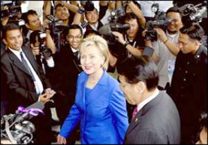 Clinton Reaches Out To Muslims