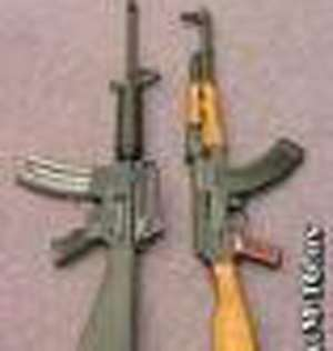 2 Arrested•For Smuggling Weapons