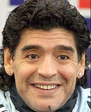 Legend Diego Is Proud Grandad