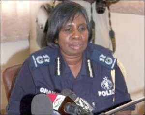 Police Take Cover•In Tamale