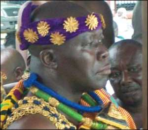 Otumfuo Osei Tutu II Angry