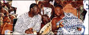 Is there any agenda to make Asantehene the King of Ghana?