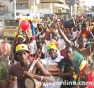 How Kumasi celebrated Stars' victory