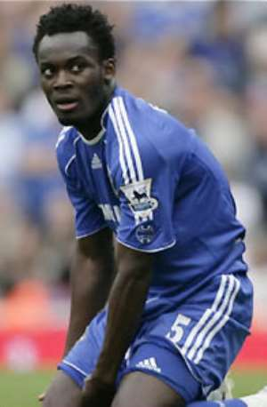 Essien in Chelsea squad to face Juventus