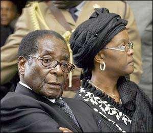 Crocodile Tears, Mr Mugabe?