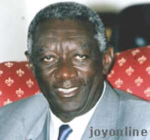 Kufuor operates from private office