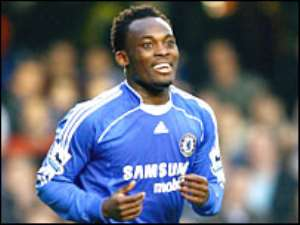 Essien puts Chelsea second