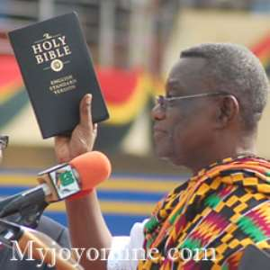 Mills swears in eight ministers of state, deputy ministers