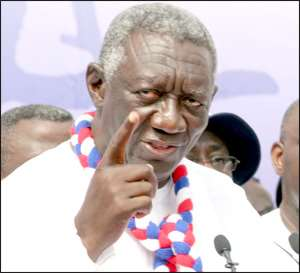 Gbevlo storms Kufuor office