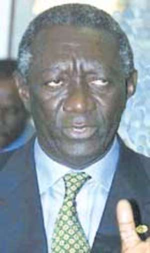 I have not approved of Kufuor`s office– Mills