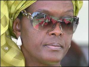 No Attack Charges For Mugabe Wife