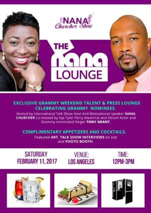 International Ghanaian Broadcaster To Host 2017 Grammy Week Media-Meets-Talent Event
