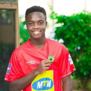 Maxwell Konadu Welcomes Mathew Cudjoe After Successful Bayern Munich Trials