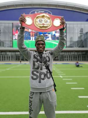 New IBF Champion Richie Commey Arrives Home On Valentine Day, Feb 14