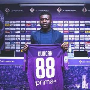 Alfred Duncan Picks Jersey Number 88 At Fiorentina; Set To Mark Debut Against Sampdoria