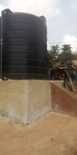 Amenfi Central DCE Construct Borehole, Polytanks To Communities