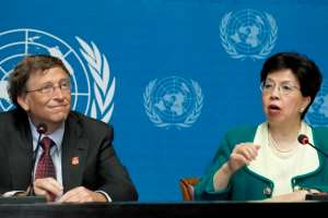 Bill Gates and former World Health Organization Director, Margaret Chan