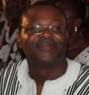 Executive Director of the West African Network for Peace-Building (WANEP), Mr Emmanuel Bombande
