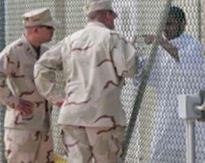 Guantanamo inmates arrive in Riyadh