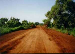 Aowin-Suaman cut off as the result of bad roads.