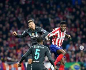 Black Stars Players Hails Thomas Partey Performance Against Liverpool In Champions League
