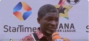 VIDEO: Maxwell Konadu Unable To Explain Why Kotoko Fielded 10 Payers Against Aduana