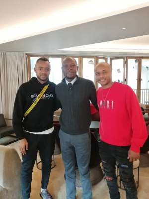 Black Stars Coach C.K Akonnor Visits Ayew Brothers In Wales