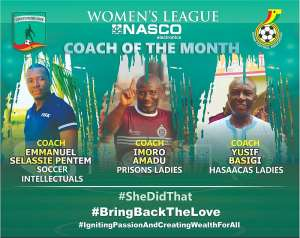 WPL: Coach Basigi, 2 Others Up For NASCO Coach Of The Month Award