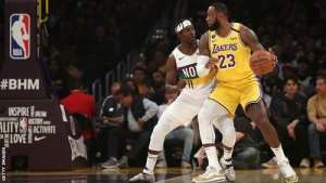 LeBron James Scores Season-High 40 Points In LA Lakers Win Over New Orleans Pelicans