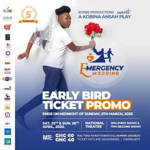 Kobina Ansah Talks About Timelines In New Play, Emergency Wedding, This April
