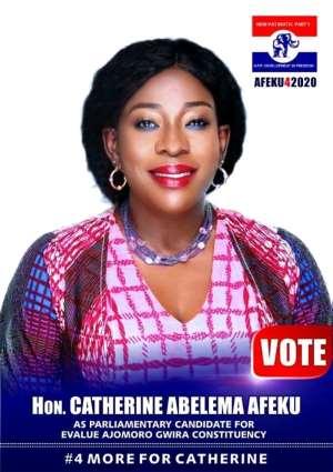 NPP Primaries: Catherine Afeku, Two Others Run Unopposed In Western Region