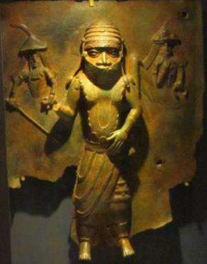 Chief Owangue, Benin, Nigeria, now in Horniman Museum, London, United Kingdom
