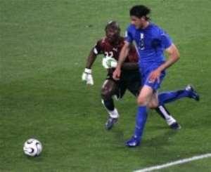 Lippi impressed by beaten Ghana