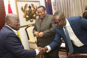 New ECOWAS Bank Head Mr Frank Donkor Calls On Akufo-Addo