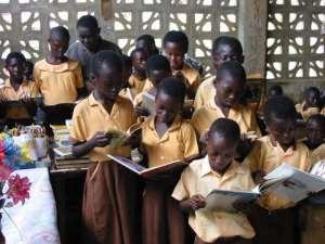 First School In Ghana In Ruins