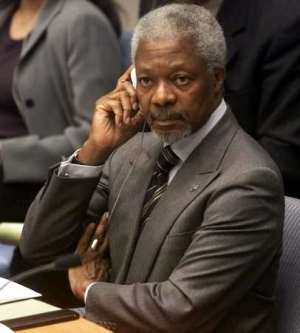 My President Is Kofi Annan