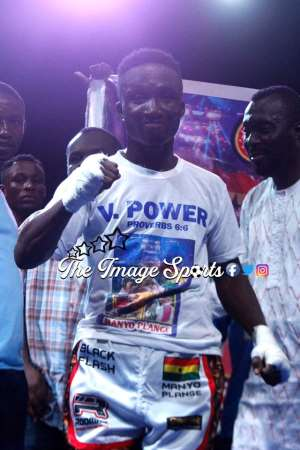 Dynamic Boxer Jessie Manyo Plange Rated Number 8 in Latest WBA Ranking