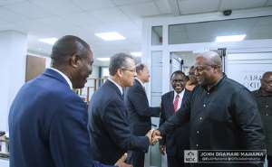 Mahama Visits The Church Of Jesus Christ of Latter-Day Saints In Accra