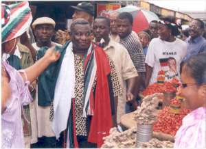 Mills Introduces Himself to Upper West  Electorate