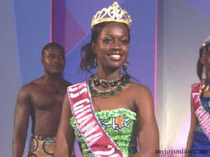 Miss Ghana  to fight guinea worm
