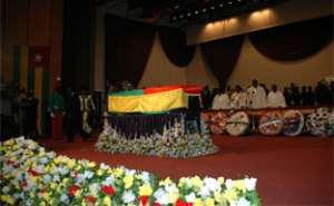 Ghana mourns President Eyadema