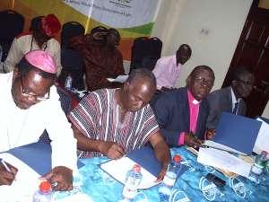 The Light Of Peace Shines On Ghana