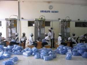 Sachet Water Factory Is Something Worth Writing Home About